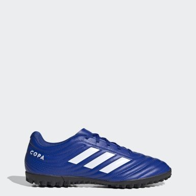 Chuteira Copa 20.4 Society Azul Homem Futebol