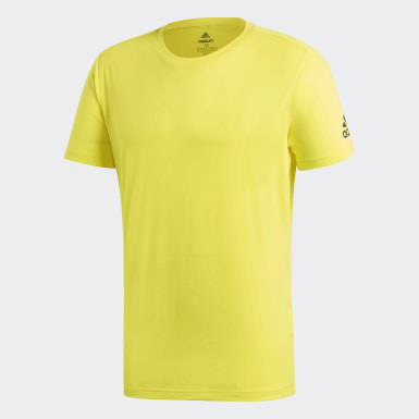 Men Training Yellow FreeLift Prime Tee