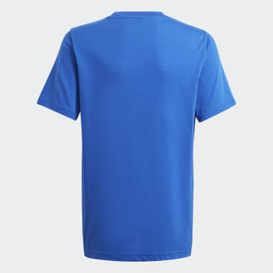 Camiseta adidas SPRT Collection Estampada Azul Niño Originals