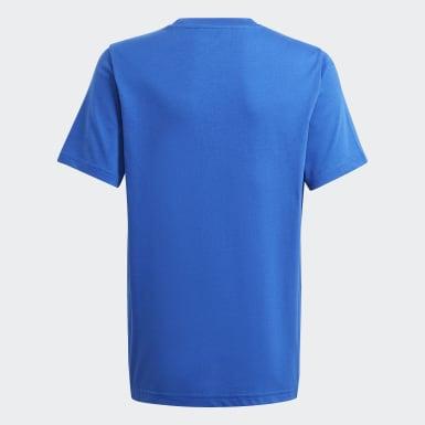 Polo adidas SPRT Collection Estampado Azul Niño Originals