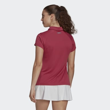 Polo HEAT.RDY Tennis Rosa Donna Tennis