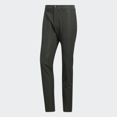 Men Olympic Sports Green Ultimate365 Herringbone Trousers