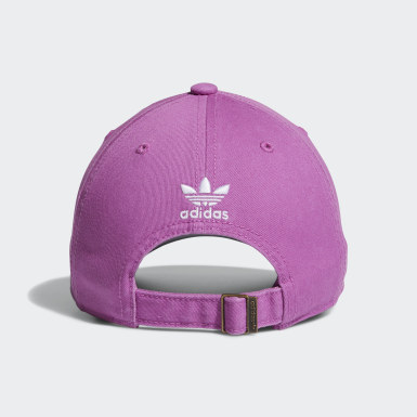 Women's Originals Purple Strap-Back Relaxed Hat