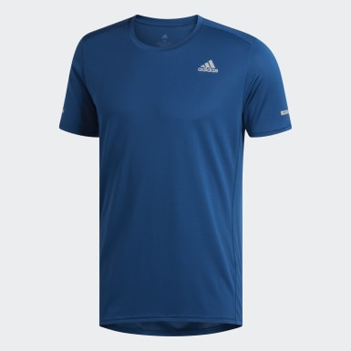 Camiseta Run Azul Homem Running