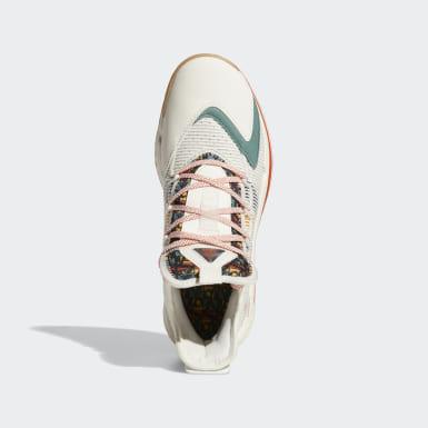 บาสเกตบอล สีขาว รองเท้า Pro Boost Low