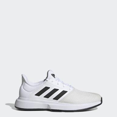 Erkek Tenis Beyaz GameCourt Ayakkabı