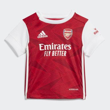 Børn Fodbold Burgundy Arsenal Baby hjemmebanesæt