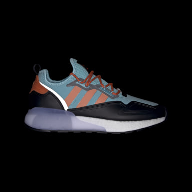 Men Originals Turquoise ZX 2K Boost Shoes