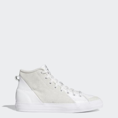 Men's Originals White Nizza Hi RF Shoes