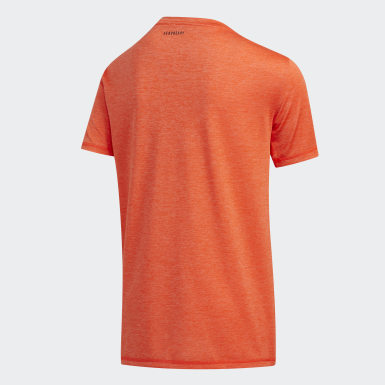 T-shirt Pixel orange Adolescents Entraînement