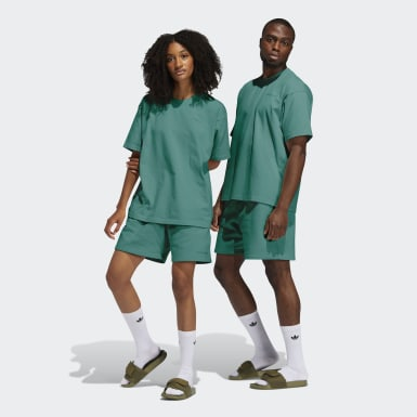Short Pharrell Williams Basics (Unisex) Verde Originals