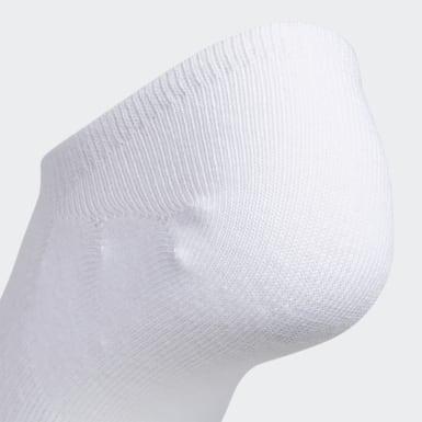 Women Training White Superlite Stripe Super-No-Show Socks 6 Pairs