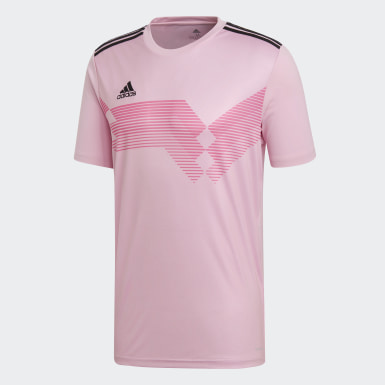 Camiseta Campeon 19 Rosa Hombre Training