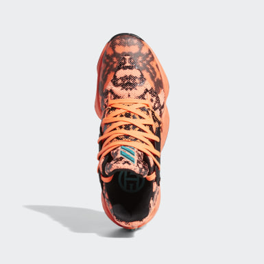 Heren Basketbal Oranje Harden Vol. 4 Schoenen