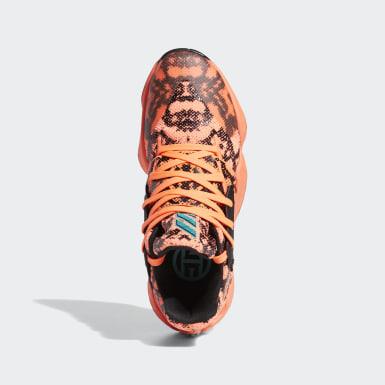 Sapatos Harden Vol. 4 Laranja Basquetebol