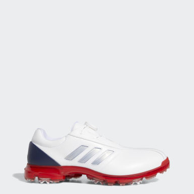 Men Golf White Alphaflex Boa Shoes