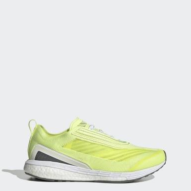 Chaussure Boston jaune Femmes adidas by Stella McCartney