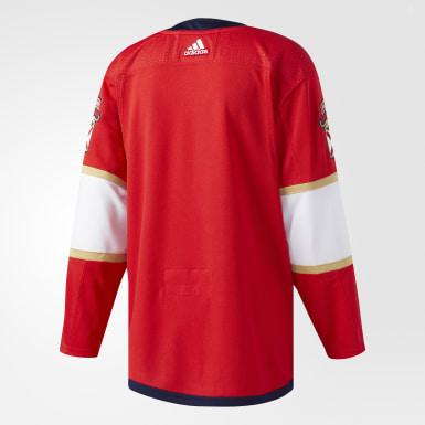 Maillot Panthers Domicile Authentique Pro rouge Hockey