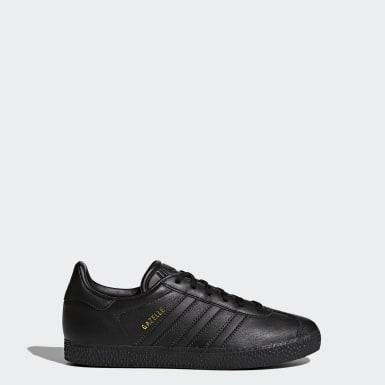 Sapatos Gazelle Preto Criança Originals