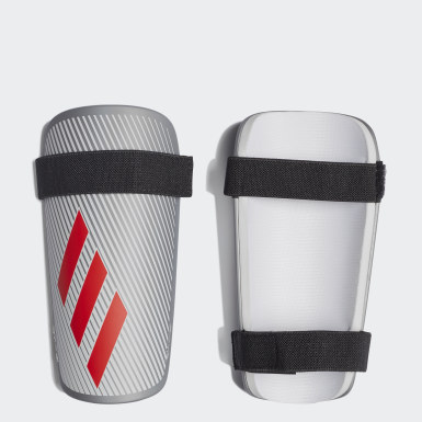 Football Silver X Lite Shin Guards
