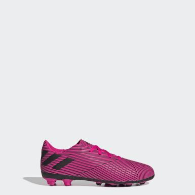 Chaussure Nemeziz 19.4Multi-surfaces Rose Garçons Football