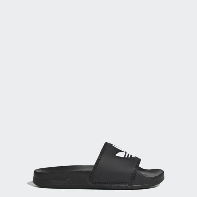 Kids Originals Black Adilette Lite Slides