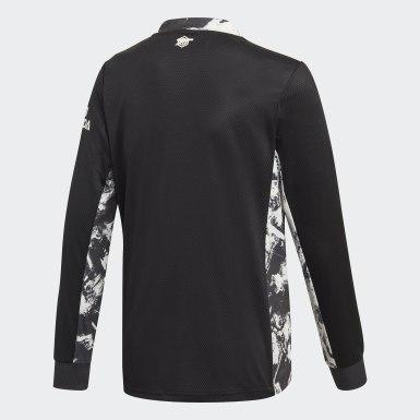 Camiseta portero primera equipación Arsenal Negro Niño Fútbol