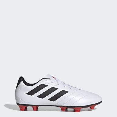 Zapatos de Fútbol Goletto VII Terreno Firme Blanco Hombre Fútbol