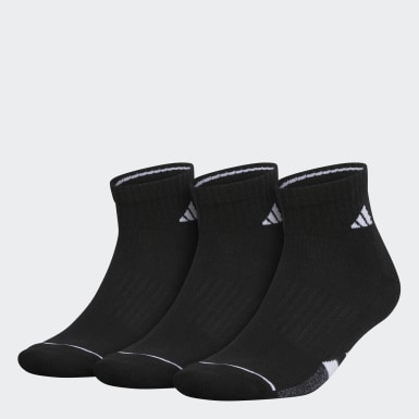 Men's Running Black M CUSHIONED II 3-PACK QUARTER