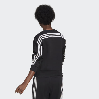 Women Athletics adidas Sportswear Wrapped 3-Stripes Sweatshirt