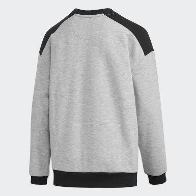Children Training Grey Sport ID Sweatshirt