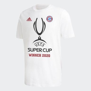 Chlapci Futbal biela Tričko FC Bayern Super Cup