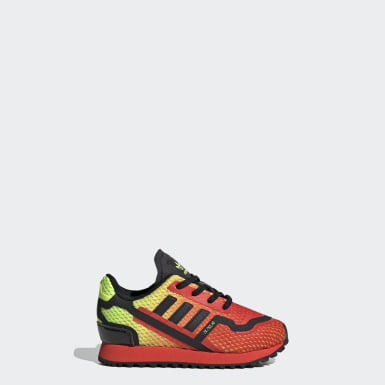 Infant & Toddler Originals Yellow ZX 750 HD Shoes