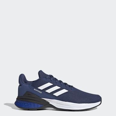 ผู้ชาย วิ่ง สีน้ำเงิน รองเท้า Response SR