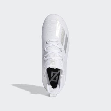 Youth Football White Adizero Cleats
