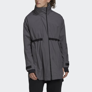 Dames City Outdoor Grijs Outerior RAIN.RDY Parka