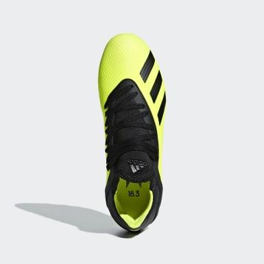 Børn Fodbold Gul X 18.3 Artificial Grass støvler