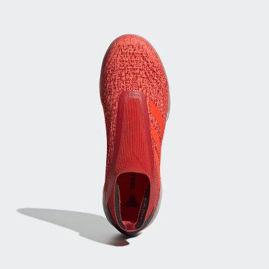 Calzado de Fútbol Predator Tango 19+ Bajo Techo Rojo Fútbol