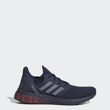 Chaussure Ultraboost 20 Bleu Hommes Running