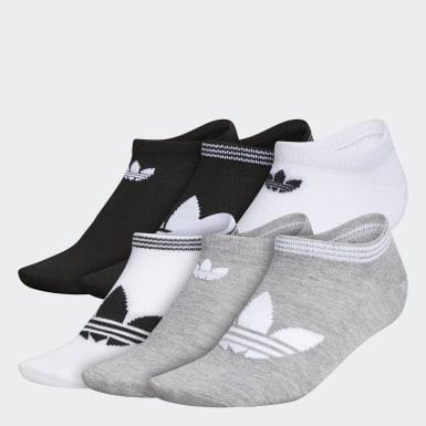 Women Originals Multicolor Trefoil Superlite No-Show Socks 6 Pairs