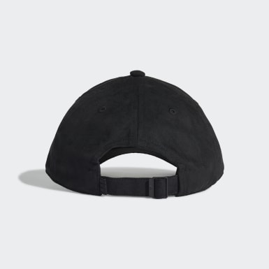 Gorra Premium Essentials Suede Baseball Negro Originals