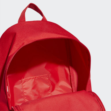 Training Red Linear Classic Daily Backpack