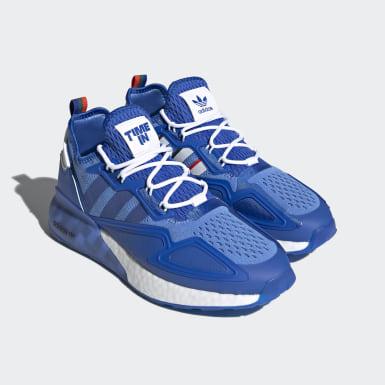 Men's Originals Blue Ninja ZX 2K Boost Shoes
