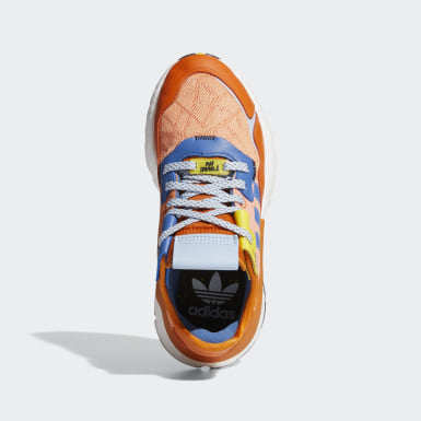 Sapatos Nite Jogger Ninja Laranja Criança Originals