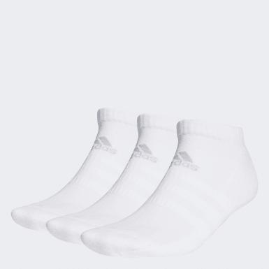 Training White Yastıklamalı Bilek Boy Çorap - 3 Çift