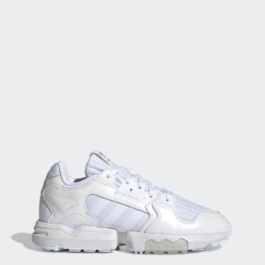 Women Originals White ZX Torsion Shoes