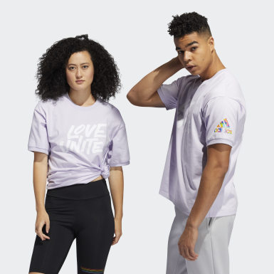 Essentials Purple Pride Unites Short Sleeve Tee (Gender Neutral)