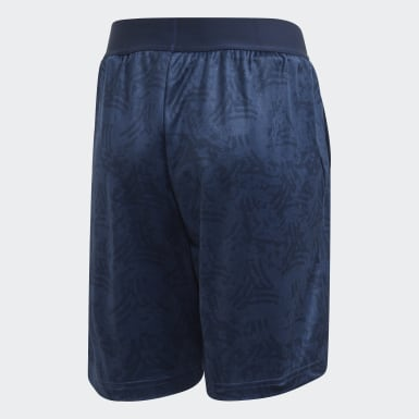 Youth 8-16 Years Training Blue TAN Shorts