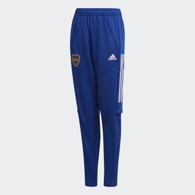 Pantalón de Entrenamiento Boca Juniors Azul Niño Fútbol