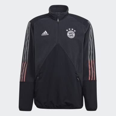 Haut FC Bayern Travel Fleece Gris Hommes Football